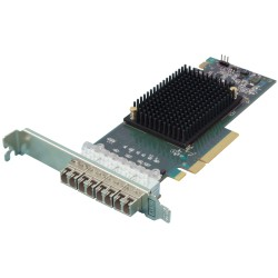16Gb Quad Port Gen 6 FC HBA (w 4 SFPs)