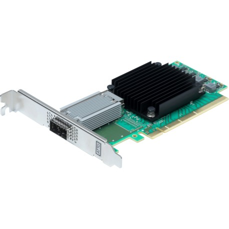 FastFrame™ 3 N311 - Single-port direct attach 25/40/50/100GbE Ethernet NIC
