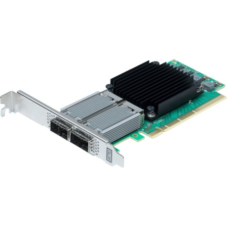 FastFrame™ 3 N312 - Dual-port direct attach 25/40/50/100GbE Ethernet NIC