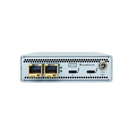 Thunderbolt 3 to 10GbE Sgl Port Adapter (w 2 SFP+)
