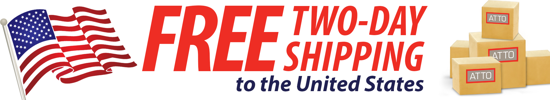 FREE 2-DAY SHIPPING to the United States and Canada