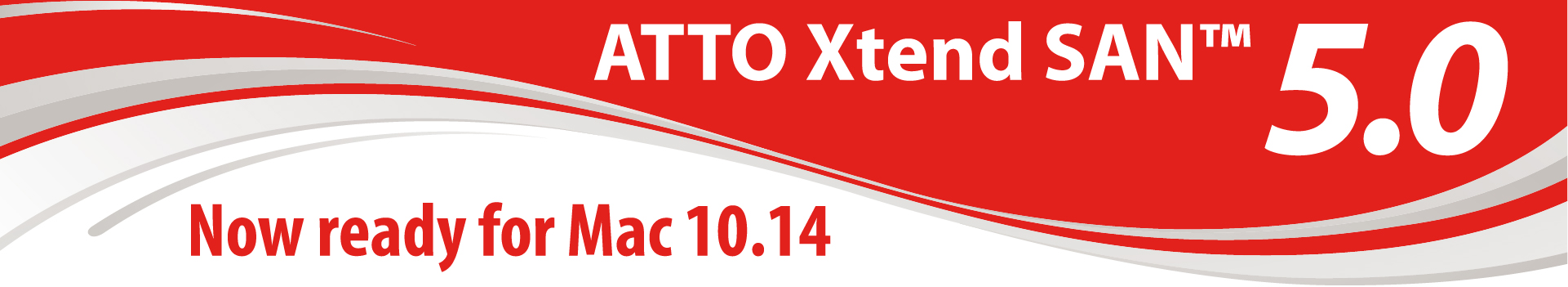 ATTO Xtend SAN 5.0 - Now ready for Mac 10.14