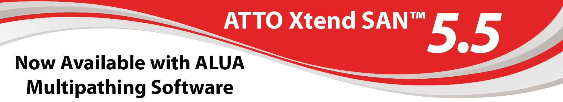ATTO Xtend SAN 5.5 - Now ready!